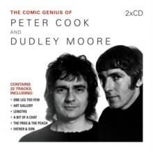 The Comic Genius of Peter Cook and Dudley Moore, CD-Audio