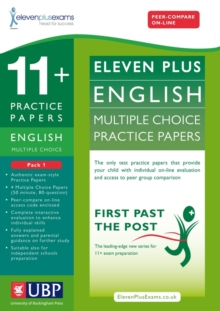 11+ English Multiple Choice Practice Papers : Pack 1, Loose-leaf