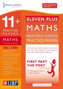 11+ Maths Multiple Choice Practice Papers : Pack 1, Loose-leaf Book
