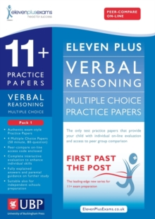 11+ Verbal Reasoning Multiple Choice Practice Papers : Pack 1, Loose-leaf