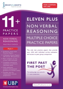 11+ Non-Verbal Multiple Choice Practice Papers : Pack 1, Paperback