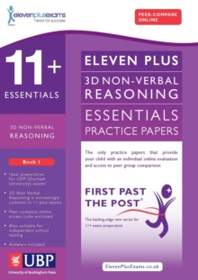 11+ Essentials 3D Non-Verbal Reasoning Practice Papers for CEM : Book 1, Paperback