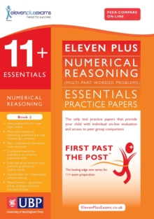 11+ Essentials Numerical Reasoning : Maths Worded Problems Book 2, Paperback Book