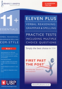 11+ Verbal Reasoning Grammar & Spelling for CEM, Multiple Choice Practice Tests Included, Paperback
