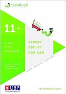 Verbal Ability for Cem 11+: Cloze Workbook, Paperback