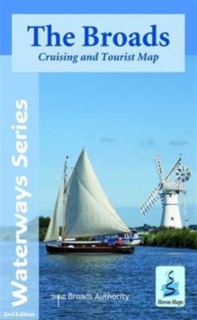 The Broads : Cruising and Tourist Map, Sheet map, folded Book