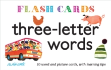 Three-letter Words : 50 Word and Picture Cards, with Learning Tips,  Book