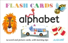 Alphabet : 54 word and picture cards, with learning tips, Cards Book
