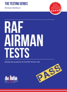 RAF Airman Tests : Sample Test Questions for the RAF Airman Test, Paperback