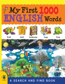 My First 1000 English Words : A Search and Find Book, Paperback Book