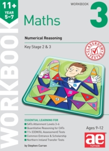 11+ Maths Year 5-7 Workbook 3 : Numerical Reasoning, Paperback