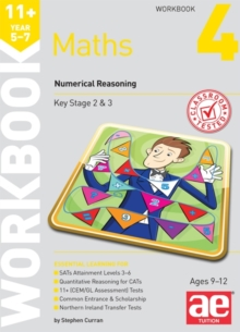 11+ Maths Year 5-7 Workbook 4 : Numerical Reasoning, Paperback Book