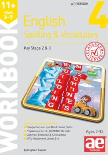 11+ Spelling and Vocabulary Workbook 4 : Intermediate Level, Paperback