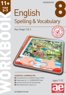 11+ Spelling and Vocabulary Workbook 8 : Advanced Level, Paperback