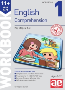 11+ English Comprehension Workbook 1, Paperback