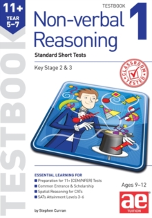 11+ Non-Verbal Reasoning Year 5-7 Testbook 1 : Multiple Choice Tests, Paperback