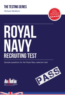 Royal Navy Recruit Test: Sample Test Questions for the Royal Navy Recruiting Test, Paperback Book