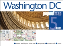 Washington DC Popout Map, Sheet map, folded
