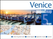 Venice Popout Map, Sheet map, folded Book