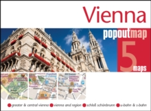 Vienna Popout Map, Sheet map, folded