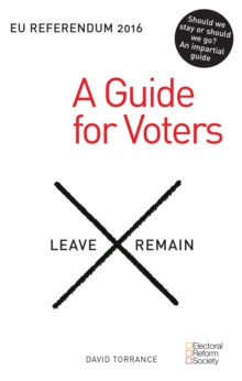 EU Referendum: A Guide for Voters, Paperback