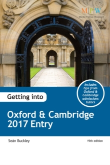 Getting into Oxford & Cambridge 2017 Entry, Paperback