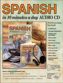 Spanish in 10 Minutes a Day, Mixed media product