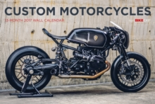 Bike Exif Custom Motorcycle Calendar 2017, Calendar Book