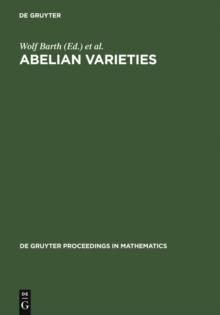 Image of Abelian Varieties : Proceedings of the International Conference held in Egloffstein, Germany, October 3-8, 1993