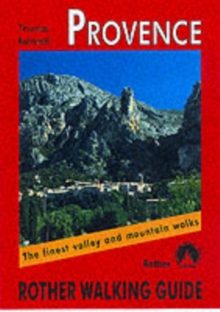 Provence : Rother Walking Guide, Paperback