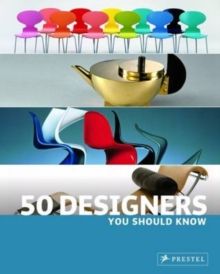 50 Designers You Should Know, Paperback