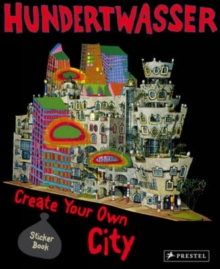 Hundertwasser Create You Own City Sticker Book, Paperback Book