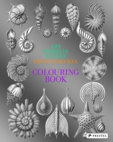Art Forms in Nature : A Colouring Book of Ernst Haeckel's Prints, Paperback