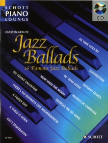 Jazz Ballads : 16 Famous Jazz Standards, Mixed media product Book
