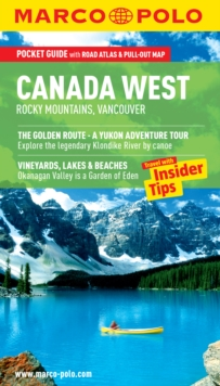 Canada West (Rocky Mountains & Vancouver) Marco Polo Pocket Guide, Paperback