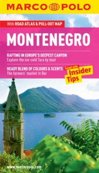 Montenegro Marco Polo Guide, Mixed media product Book