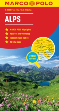Alps Marco Polo Map, Sheet map, folded