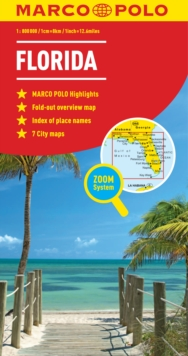 Florida Marco Polo Map, Sheet map, folded Book