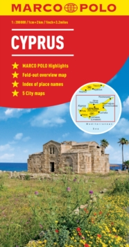 Cyprus Marco Polo Map, Other printed item Book