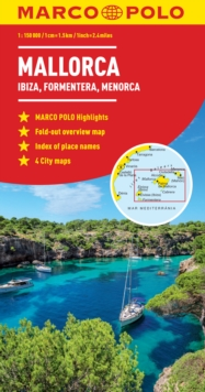 Mallorca (Ibiza, Formentera, Menorca) Marco Polo Map, Other printed item Book