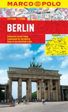 Berlin Marco Polo City Map, Sheet map, folded