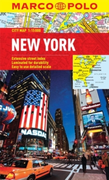 New York Marco Polo City Map, Sheet map, folded