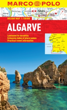 Algarve Marco Polo Holiday Map, Sheet map, folded