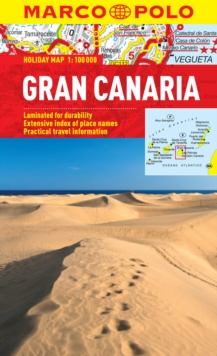 Gran Canaria Marco Polo Holiday Map, Sheet map, folded