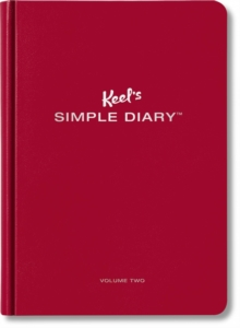 Keel's Simple Diary Volume Two (dark Red): The Ladybug Edition, Diary Book