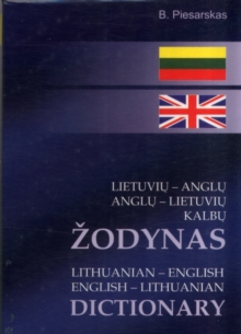 Lithuanian-English & English-Lithuanian Dictionary, Paperback