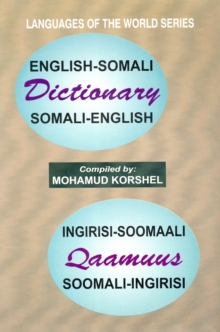 English-Somali and Somali-English Dictionary, Hardback Book