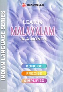 Learn Malayalam in a Month : Script & Roman, Paperback Book