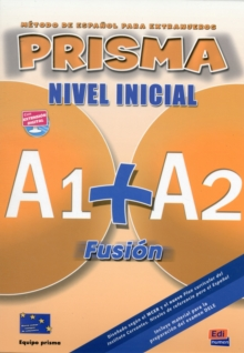 Prisma Fusion A1 + A2 : Student Book + CD, Mixed media product