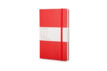 Moleskine Pocket Plain Notebook Red, Notebook / blank book